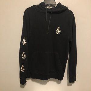 Volcom black hoodie